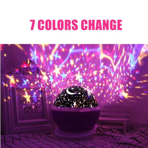 LED Unicorn Projector Light