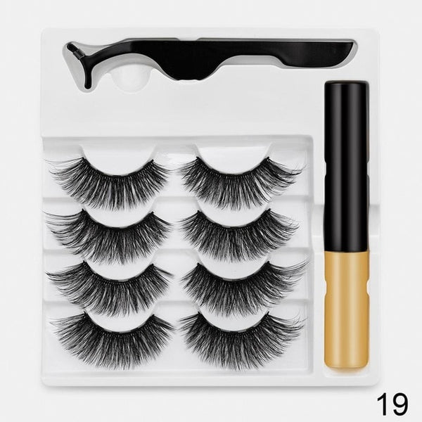 Magnet Eyelashes with magnetic Eyeliner