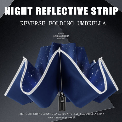 Inverted Reflective Umbrella