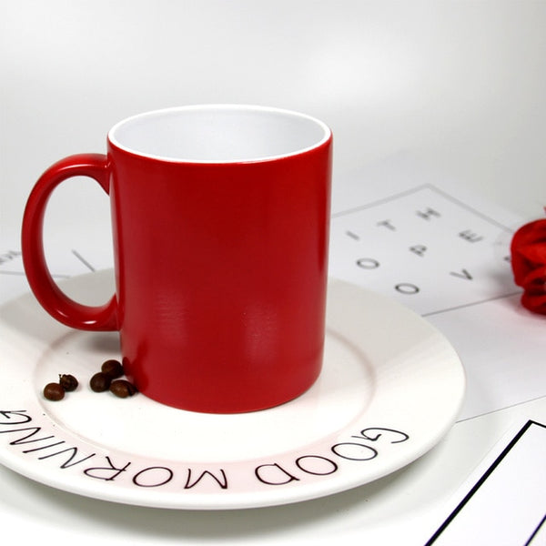 Personalized Heat Sensitive Magic Mug