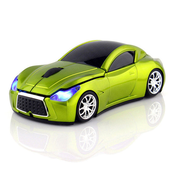 Sports Car Wireless Optical Computer Mouse