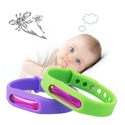 Natural Anti Mosquito Capsule Wristband