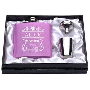 Personalized Stainless Steel Bridal party Flasks