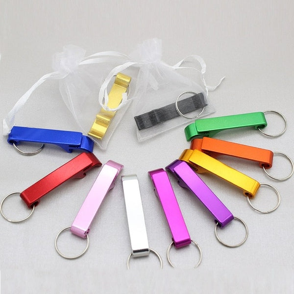 50PCS Personalized Engraved Bottle Openers
