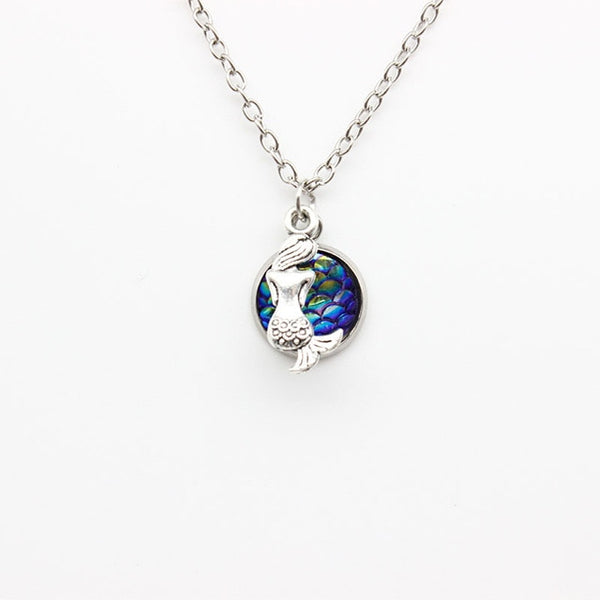 Colorful Mermaid Necklace