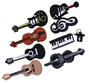 Musical instruments 2.0 USB flash drive