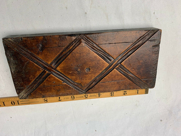ANTIQUE HARDWOOD GESSO MOULD (1) - Boyshill Tools and Treen