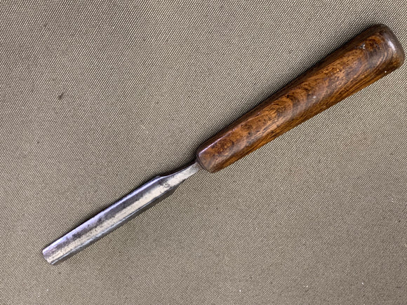 LOVELY OLD SASH GOUGE BY SORBY HANDLE CRACKED - Boyshill Tools and Treen