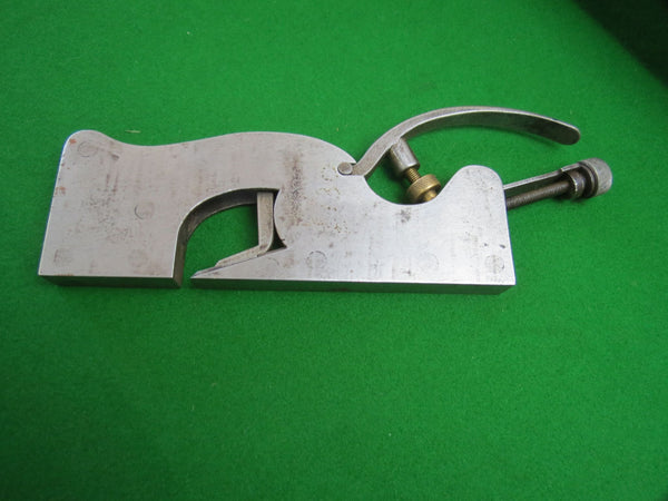 "Record 42 Pattern Shoulder Rebate Plane - Unmarked 5/8"" with Record Iron - Boyshill Tools and Treen"