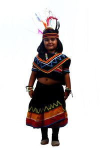 SBD Adivasi Tribal Girl  costume