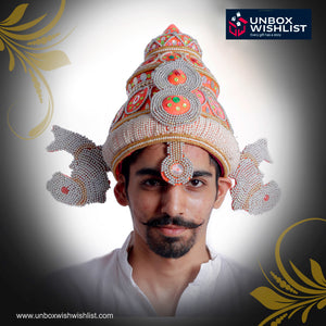 God Vishnu / Brahma / Balaji paghdi / Headgear / Turban