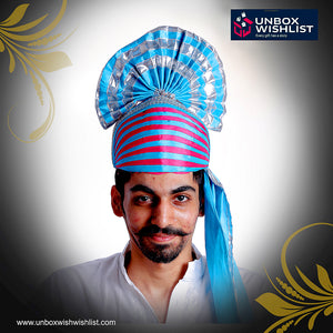Traditional Punjabi Bhangda Paghdi / Headgear / Turban