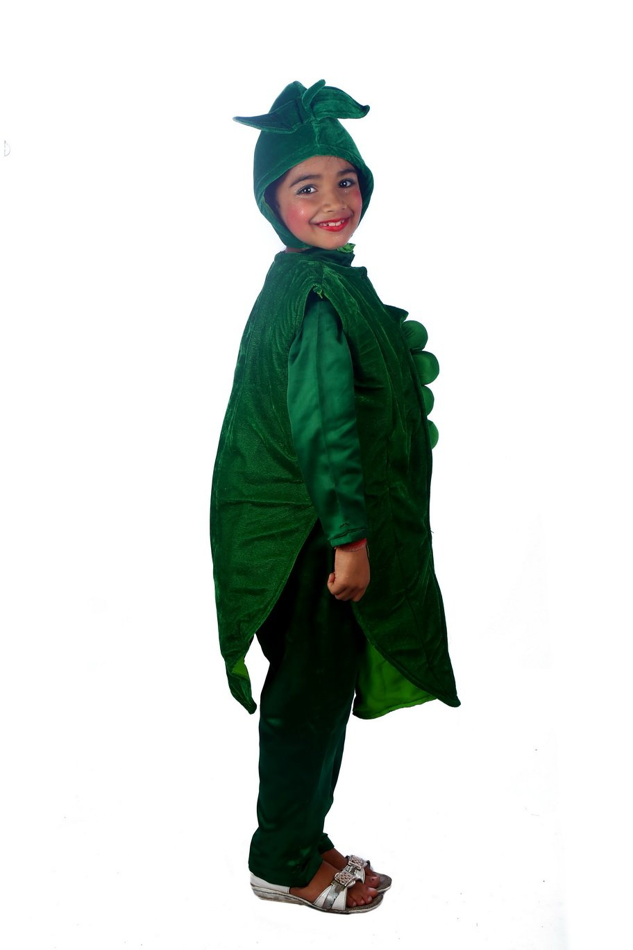 Greenpeas Vegetable Costume