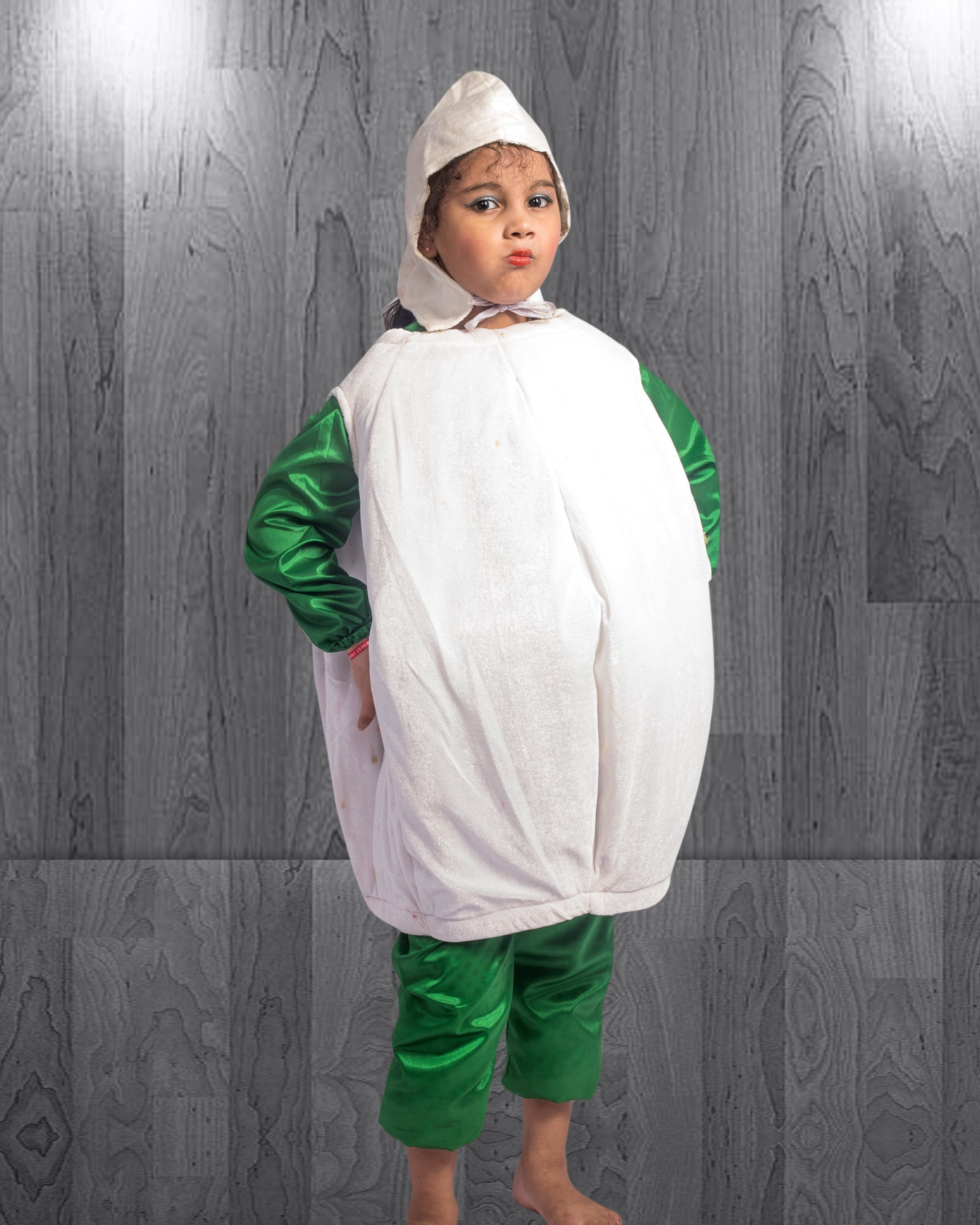 Garlic Vegetable Costume