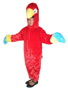 Bird Red Parrot costume