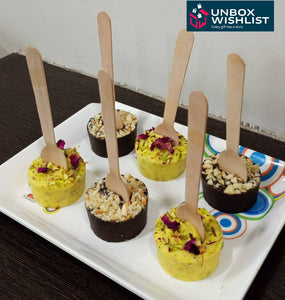Dryfruit Rasmalai Stirrer - Eat it or Drink it with Hot Milk - 2 Piece