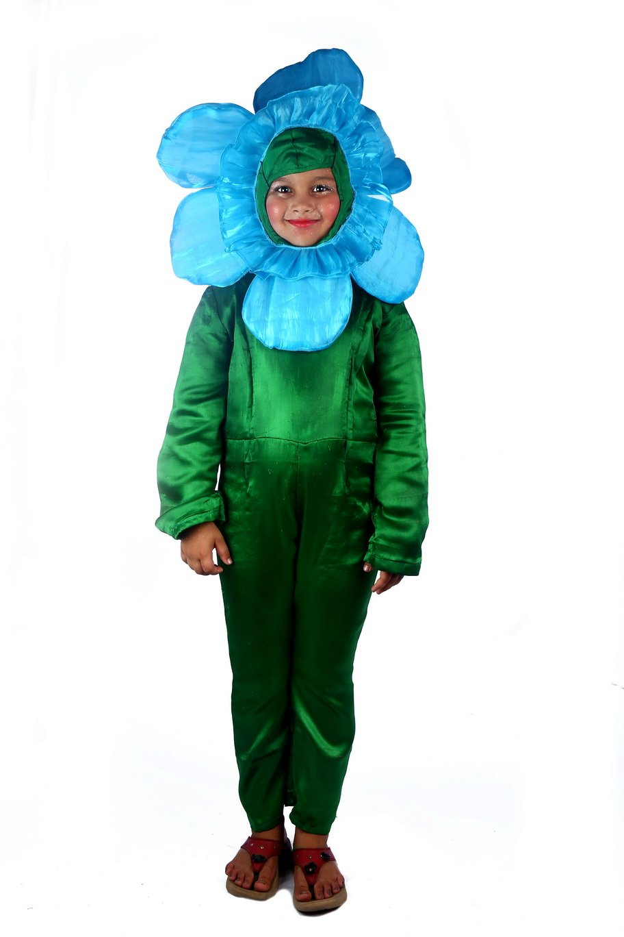 BLUE ORGENZA Orchid FLOWER Costume