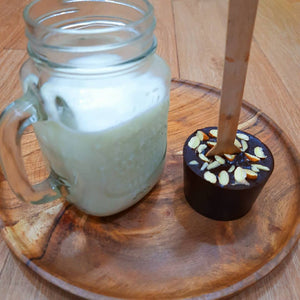 Dark Chocolate Stirrer - Eat it or Drink it with Hot Milk - 2 Piece