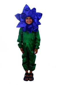 BLUE Orchid FLOWER Costume