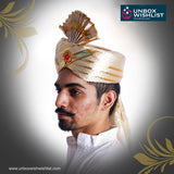 Traditional Groom Turban / Pagdi / Headgear