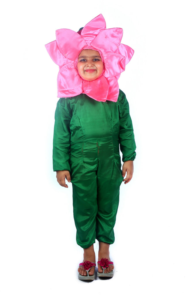 LOTUS SATIN FLOWER Costume
