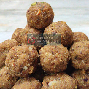 Whole grain Low Fat healthy & delicious laddo/laddu - No added preservatives - 100% Organic