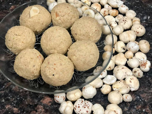 Oats Makhana laddo/laddu | Highly rich in protein & Calcium | Purely Homemade | Low Fat healthy & delicious - No added preservatives - 100% Organic
