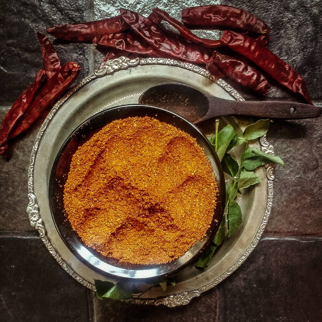 Authentic South Indian Style Sambhar Powder / Sambar podi - 100 grams