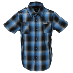 ATLANTIC BAMBOO SHORT SLEEVE BUTTON UP - YOUTH