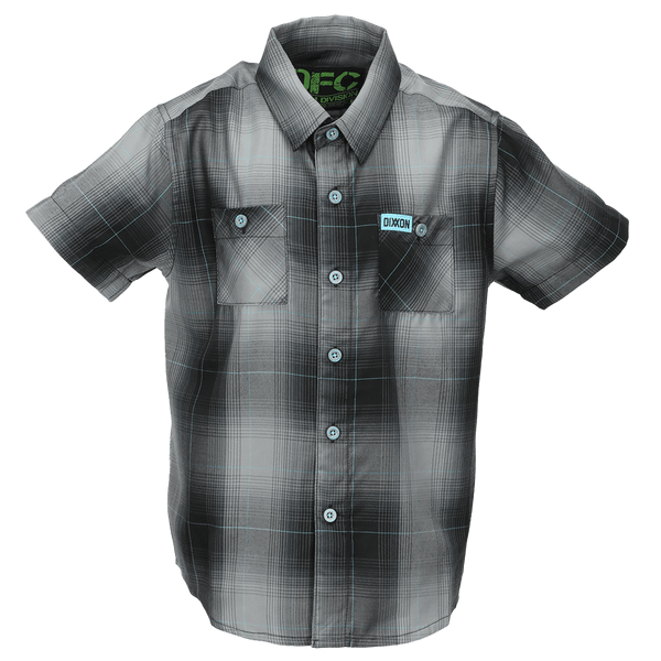BEACON BAMBOO SHORT SLEEVE BUTTON UP - YOUTH