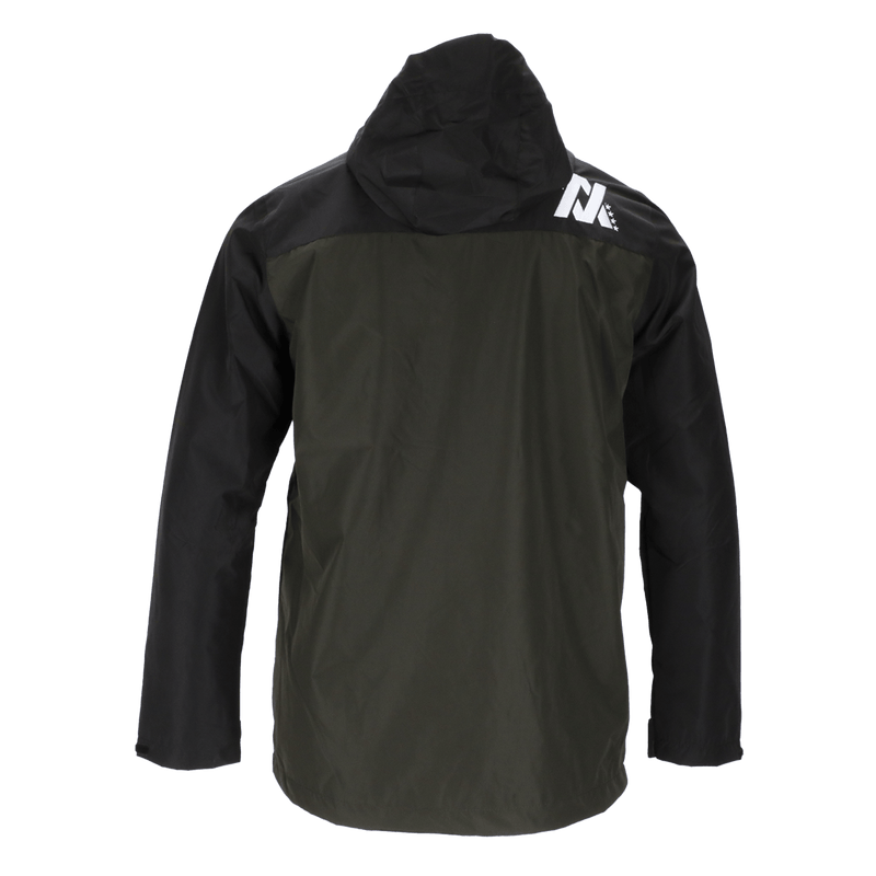 TECH WINDBREAKER BLACK & O.D. GREEN - MENS