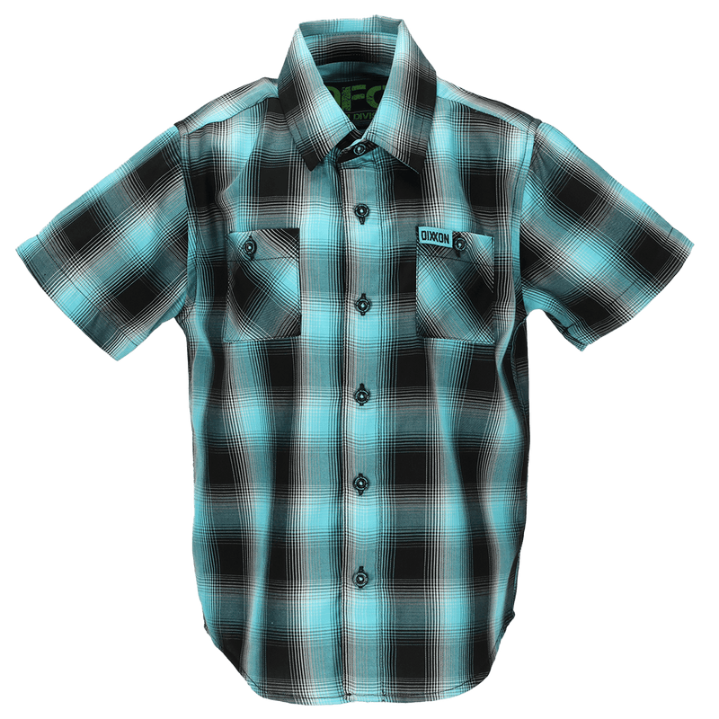 CAICOS BAMBOO SHORT SLEEVE BUTTON UP - YOUTH