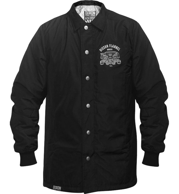 CALIFAS INSULATED COACHES JACKET BLACK - MENS
