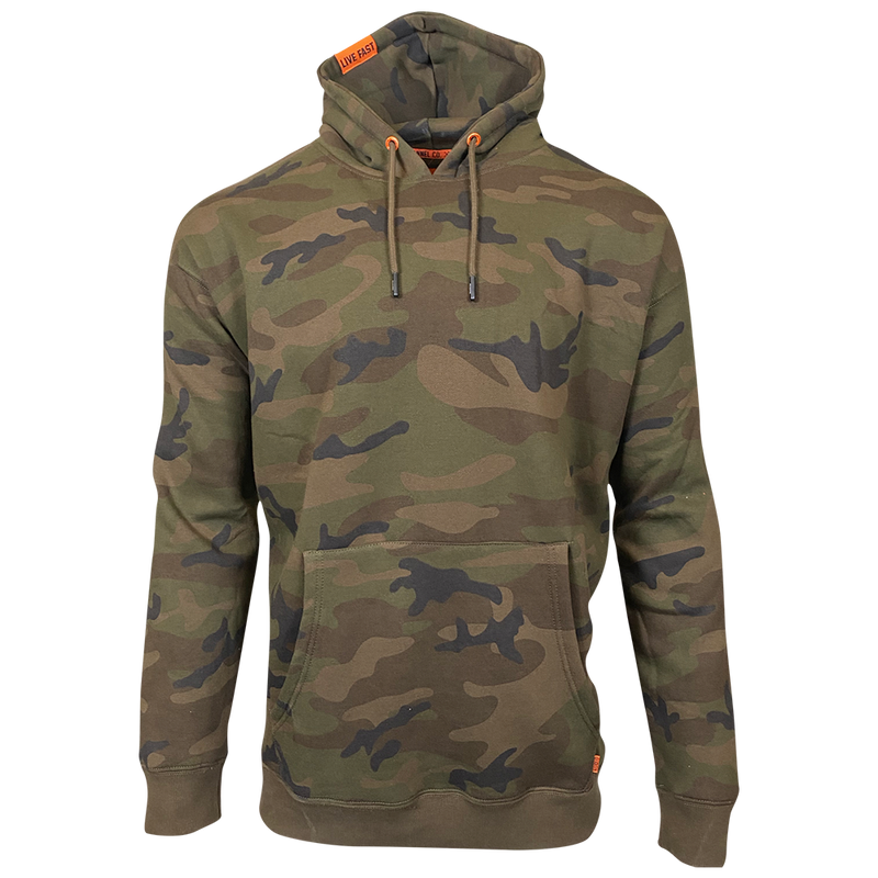 DIXXON PLAIN PERFECT HOODIE CAMO - MENS