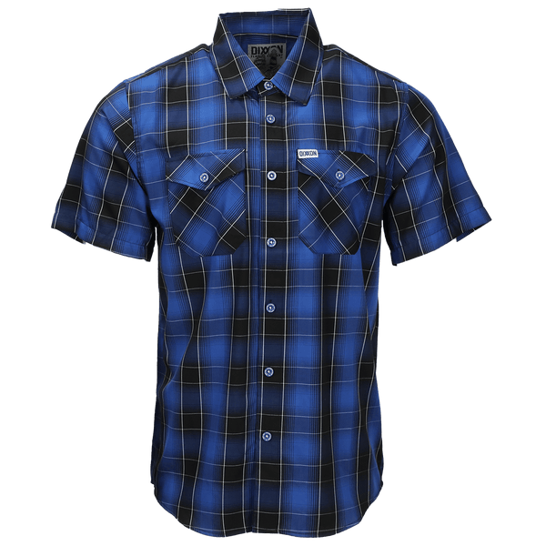 CAPE BAMBOO SHORT SLEEVE BUTTON UP - MENS