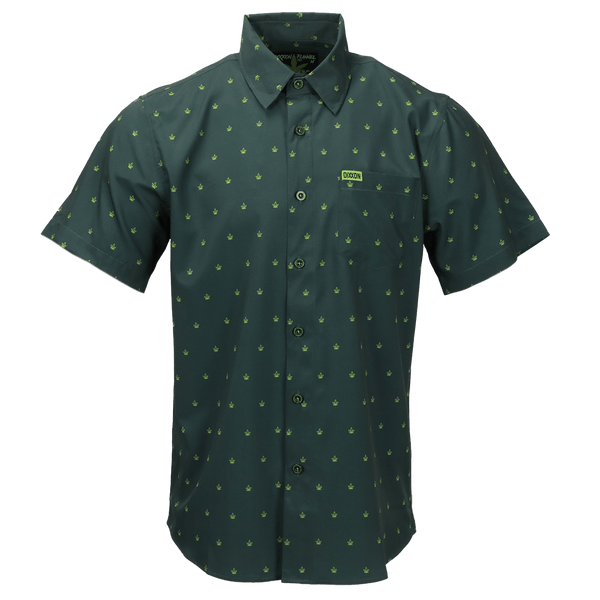 CHRONIC SHORT SLEEVE BUTTON UP - MENS