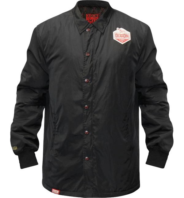 CLASSIC INSULATED COACHES JACKET BLACK - MENS