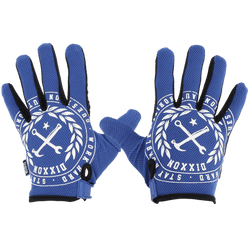 CRESTED GLOVES BLUE