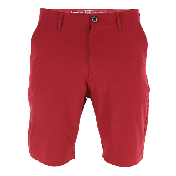 HYBRID SHORTS MAROON - MENS