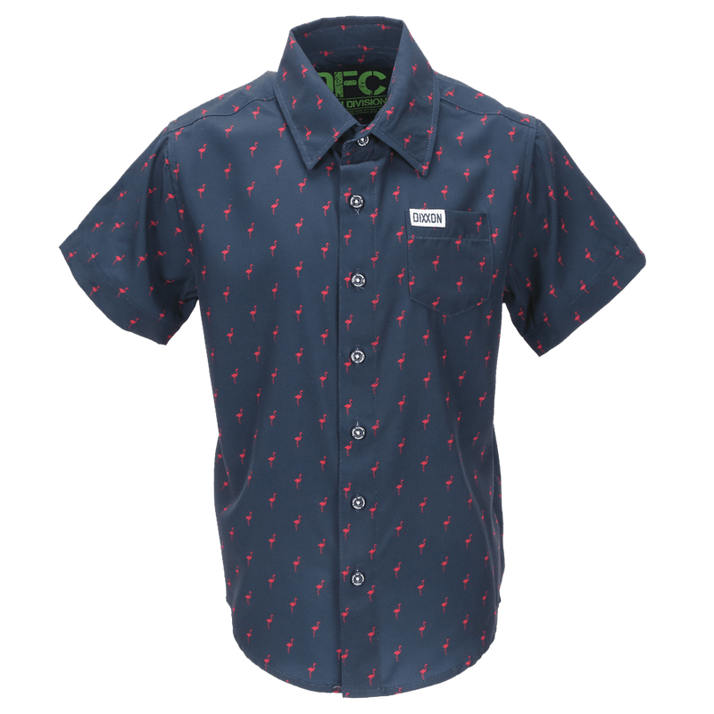 MINGOS SHORT SLEEVE BUTTON UP - YOUTH