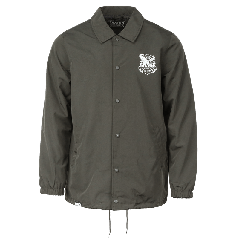 ETCHED COACHES JACKET O.D. GREEN - MENS