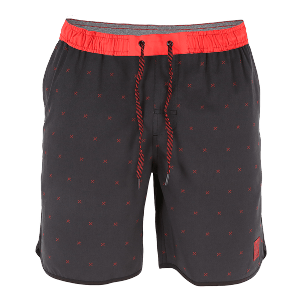 CHAD SHORTS RED FINNEY - MENS