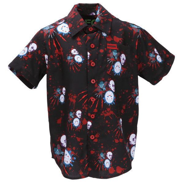 TRILOGY SHORT SLEEVE BUTTON UP - YOUTH