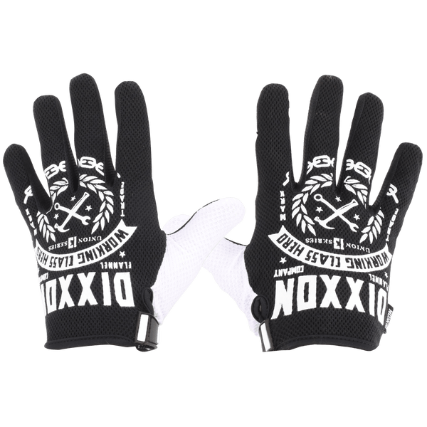 WORKING CLASS GLOVES BLACK/WHITE