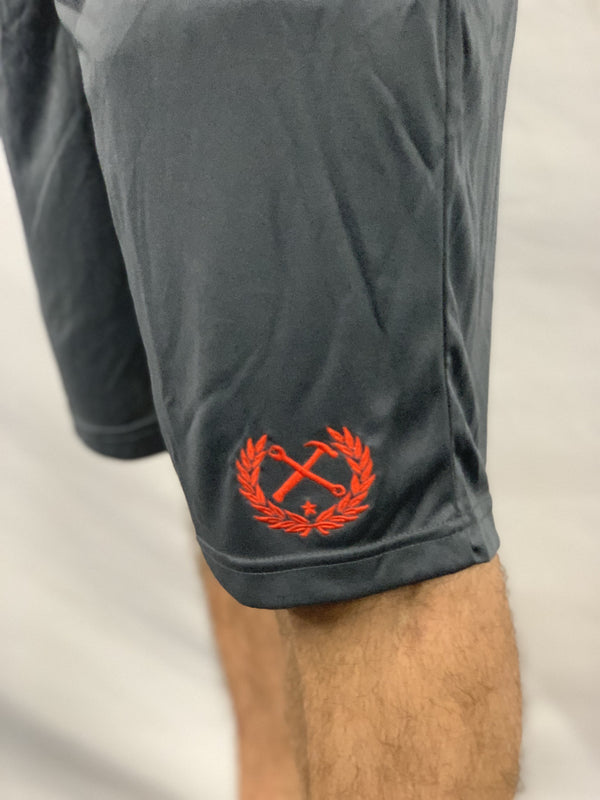 GYM SHORTS CHARCOAL - MENS