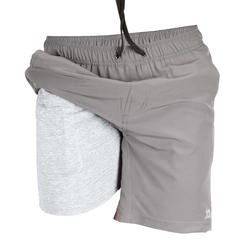 BRAD SHORTS GREY - MENS
