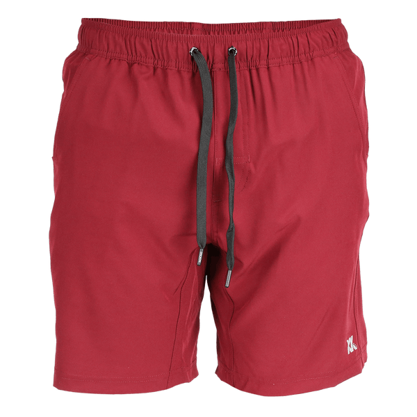 BRAD SHORTS MAROON - MENS