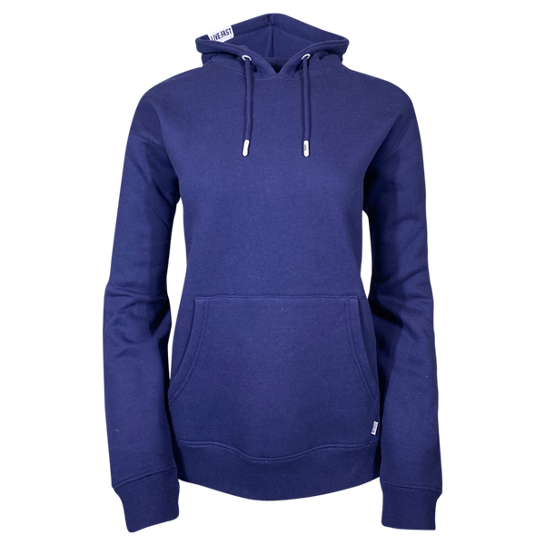 DIXXON PLAIN PERFECT HOODIE NAVY - WOMENS