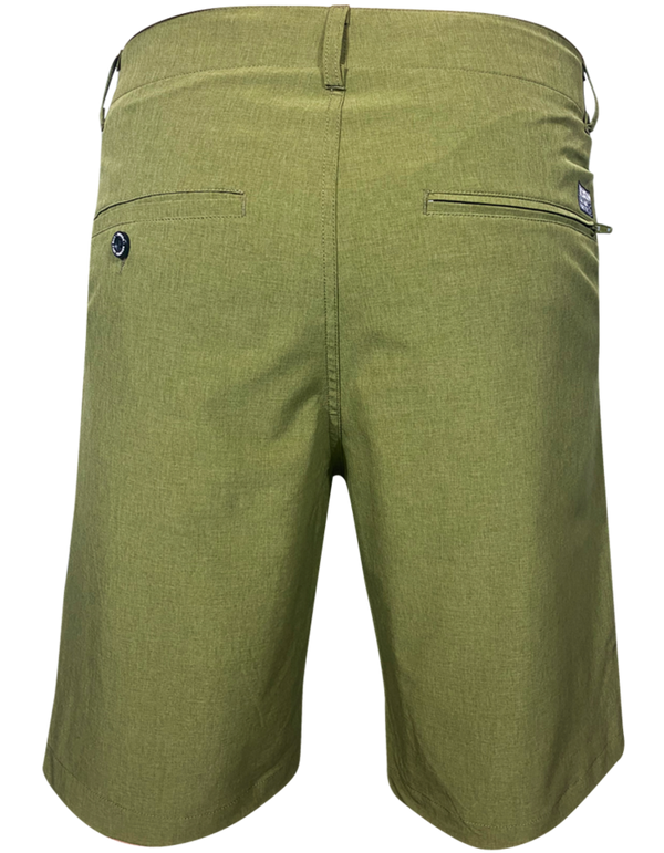 DIXXON HYBRID CHINO SHORTS OD GREEN