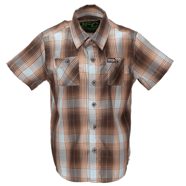 PISMO BAMBOO SHORT SLEEVE BUTTON UP - YOUTH